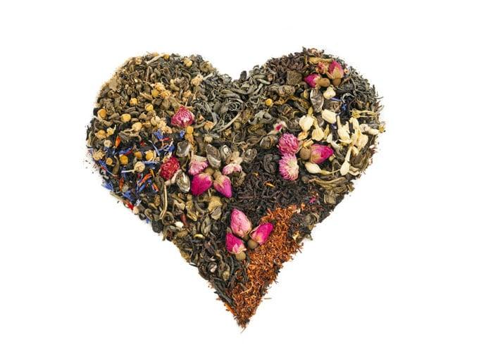 Corazón de té