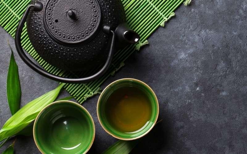 té verde tetera
