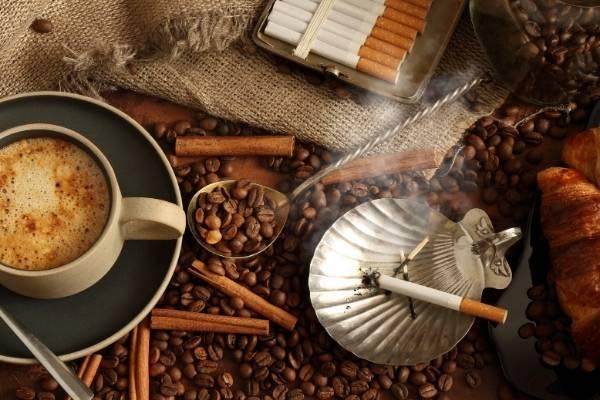 Cafeína y nicotina