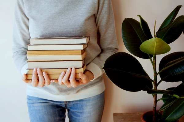 libros con persona